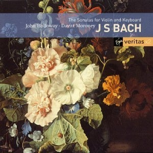 JS Bach: Sonatas For Violin And Keyboard album cover