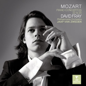 Mozart: Piano Concertos 22 & 25 album cover
