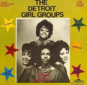 The Detroit Girl Groups album cover