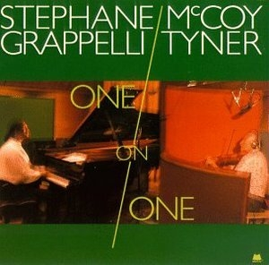 One On One, With Mccoy Tyner album cover