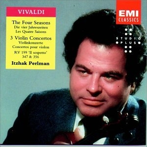Vivaldi: The Four Seasons,  3 Violin Concertos album cover