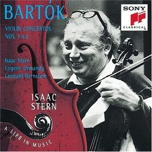 Bartók: Violin Concertos album cover