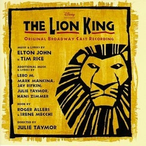 The Lion King (1997 Original Broadway Cast) album cover