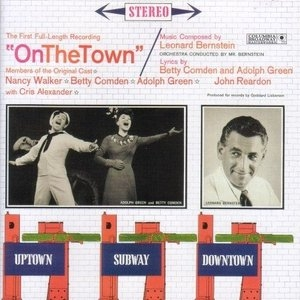 On The Town (1958 Cast) album cover