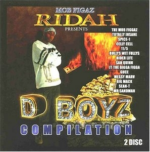Ridah Presents: D Boyz Compilation album cover