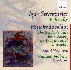 Stravinsky: Historie Du Soldat album cover