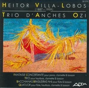 Villa Lobos: Fantaisie Concertante album cover