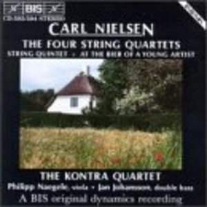 Nielsen: The Four String Quartets album cover
