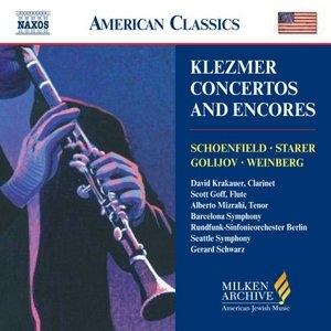 Klezmer Concertos & Encores album cover