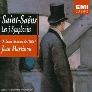 Saint-Saëns: Les 5 Symphonies album cover