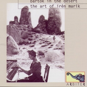 Bartok In The Desert album cover