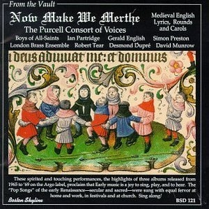 Now Make We Merthe: Medieval English Lyrics & Carols album cover