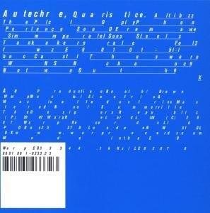 Quaristice album cover