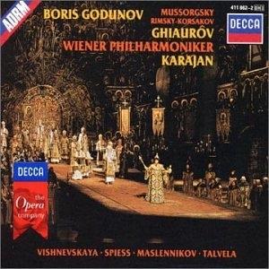Mussorgsky: Boris Godunov album cover