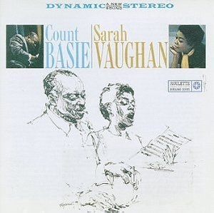 Count Basie-Sarah Vaughan album cover