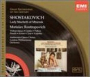 Shostakovich: Lady MacBeth Of Mtsensk album cover