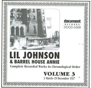 Complete Recorded Works, Vol. 3 (1937) album cover