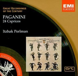 Paganini: 24 Caprices album cover