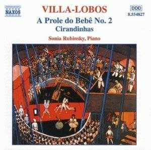 Villa-Lobos: Piano Music Vol.2 album cover