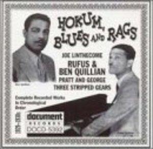 Hokum Blues And Rags (1929-1930s) album cover