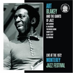 Live At The 1972 Monterey Jazz Festival album cover