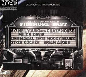 Live At The Fillmore East 1970 album cover