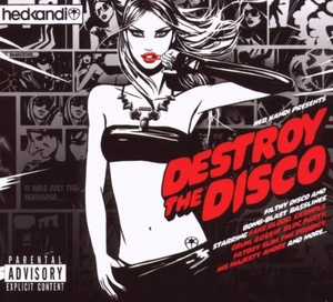 Hed Kandi: Destroy The Disco album cover