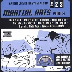 Greensleeves Rhythm Album #23: Martial Arts Riddim, Part 2 album cover