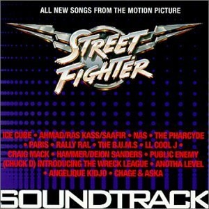 Street Fighter (All New Songs From The Motion Picture) album cover