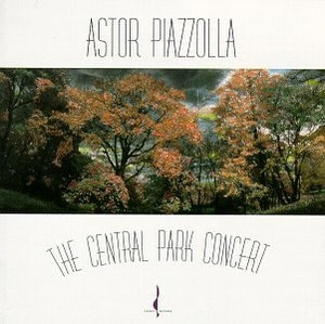 The Central Park Concert album cover