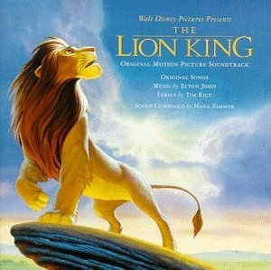 The Lion King (Original Motion Picture Soundtrack) album cover