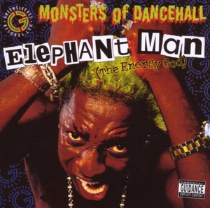 The Energy God (Monsters Of Dancehall) album cover