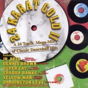 24K Gold II: A 24 Track Mega-Mix of Classic Dancehall Hits album cover