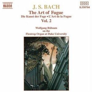 JS Bach: The Art Of Fugue Vol.2 album cover
