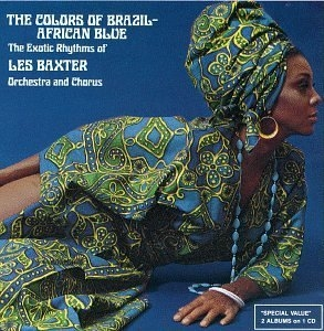 The Colors Of Brazil-African Blue album cover