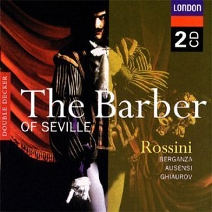 Rossini: The Barber Of Seville album cover