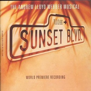 Sunset Blvd (1993 Original London Cast) album cover