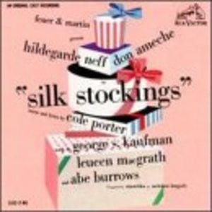Silk Stockings (1955 Original Broadway Cast) album cover