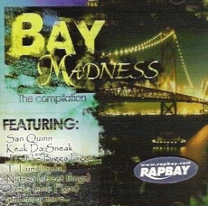 Bay Madness The Compilation album cover