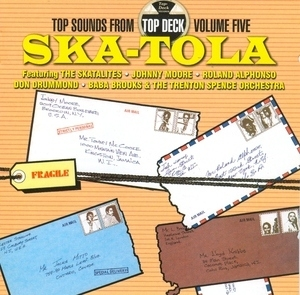 Top Sounds From Top Deck Vol.5-Ska-Tola album cover