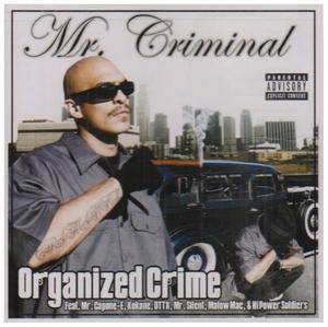 Organized Crime album cover