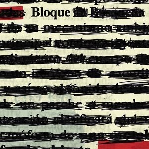 Bloque album cover