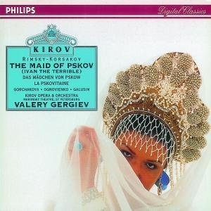Rimsky-Korsakov: The Maid Of Pskov (Ivan The Terrible) album cover