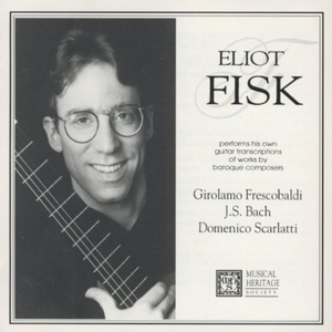 Performs Baroque Guitar Transcriptions album cover
