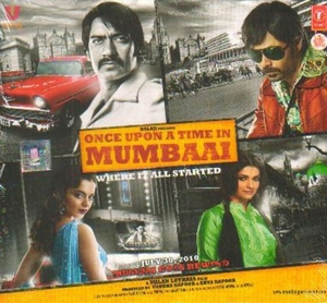 Once Upon A Time In Mumbai album cover
