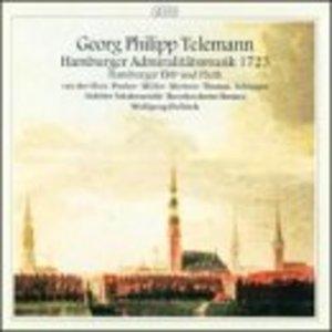 Telemann: Hamburger Admiralitatsmusik album cover
