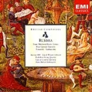 Rubbra: Four Medieval Latin Lyrics album cover