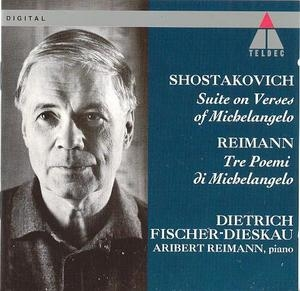 Shostakovich: Suite On Verses~ Reimann: Tre Poemi album cover