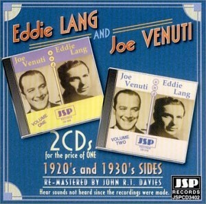 Eddie Lang And Joe Venuti Vol.1&2 album cover