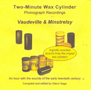 Wax Cylinder: Vaudeville And Minstrelsy album cover